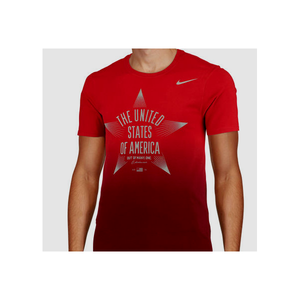 "NIKE - MEN'S TEE ""USOC STAR VERBIAGE"""