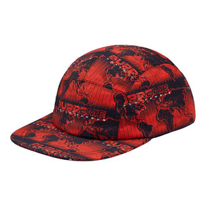 "SUPREME - CAMP CAP ""WORLD FAMOUS TAPED SEAM"" - RED (S/S 2018)"