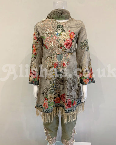 Lawn Eid Ivana Girls Suit