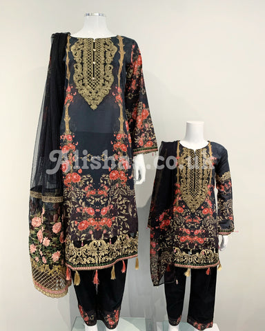 Ladies Designer Printed Lawn Suit