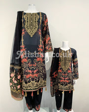 Girls Designer Lawn Printed Suit