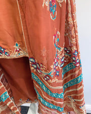 RAFIA Ladies Orange Jacket Outfit