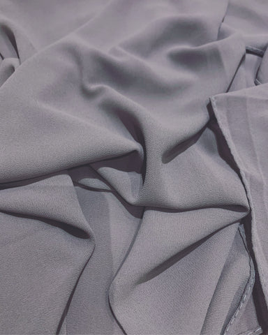 PREMIUM CHIFFON HIJAB IN LIGHT GREY