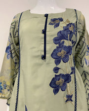 RAFIA Embroidered Viscose Kurta