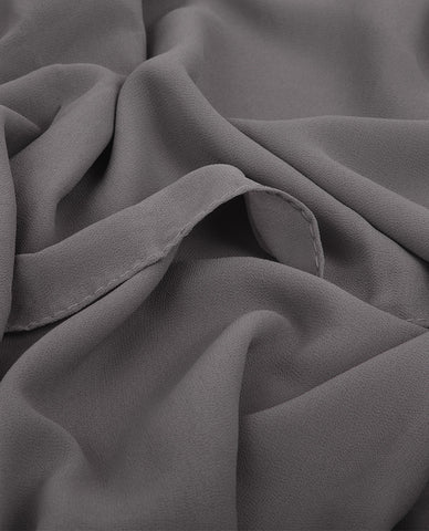 PREMIUM CHIFFON HIJAB IN GREY
