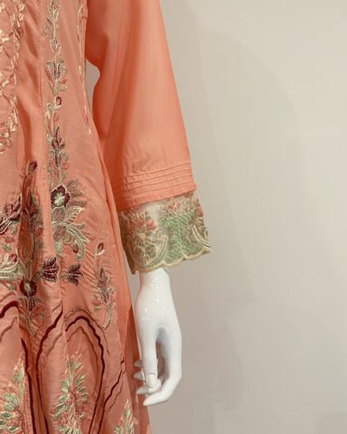 RAFIA Designer Peach Dress Suit