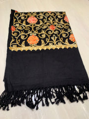 Large Embroidered Shawl