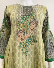Printed Masoori Lawn Dress Suit