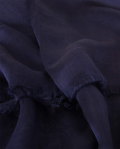CLASSIC SILKY FINISH HIJAB IN NAVY