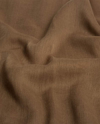 PLAIN VISCOSE HIJAB IN OAK