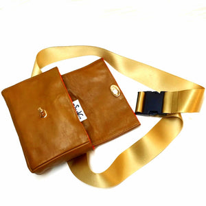 FUN Leather waist bag
