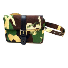 Humanity/Justice Camo Belt Bag