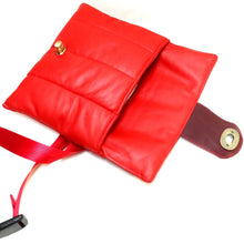 LOVE Quilted Leather Fanny Pack