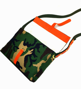 Let Freedom Ring Camo Crossbody Bag