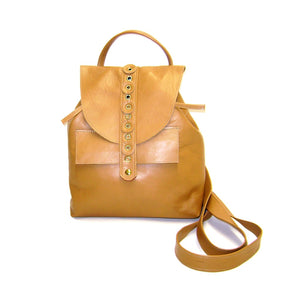 Nicholas Mini Backpack - Tan