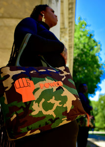 Power Camo Tote