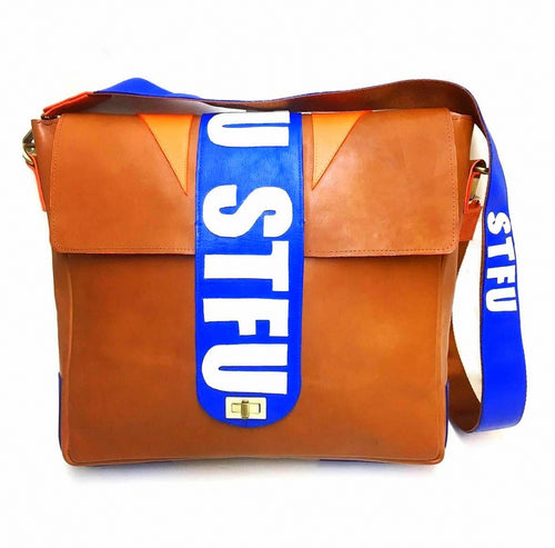 STFU Leather Crossbody Bag