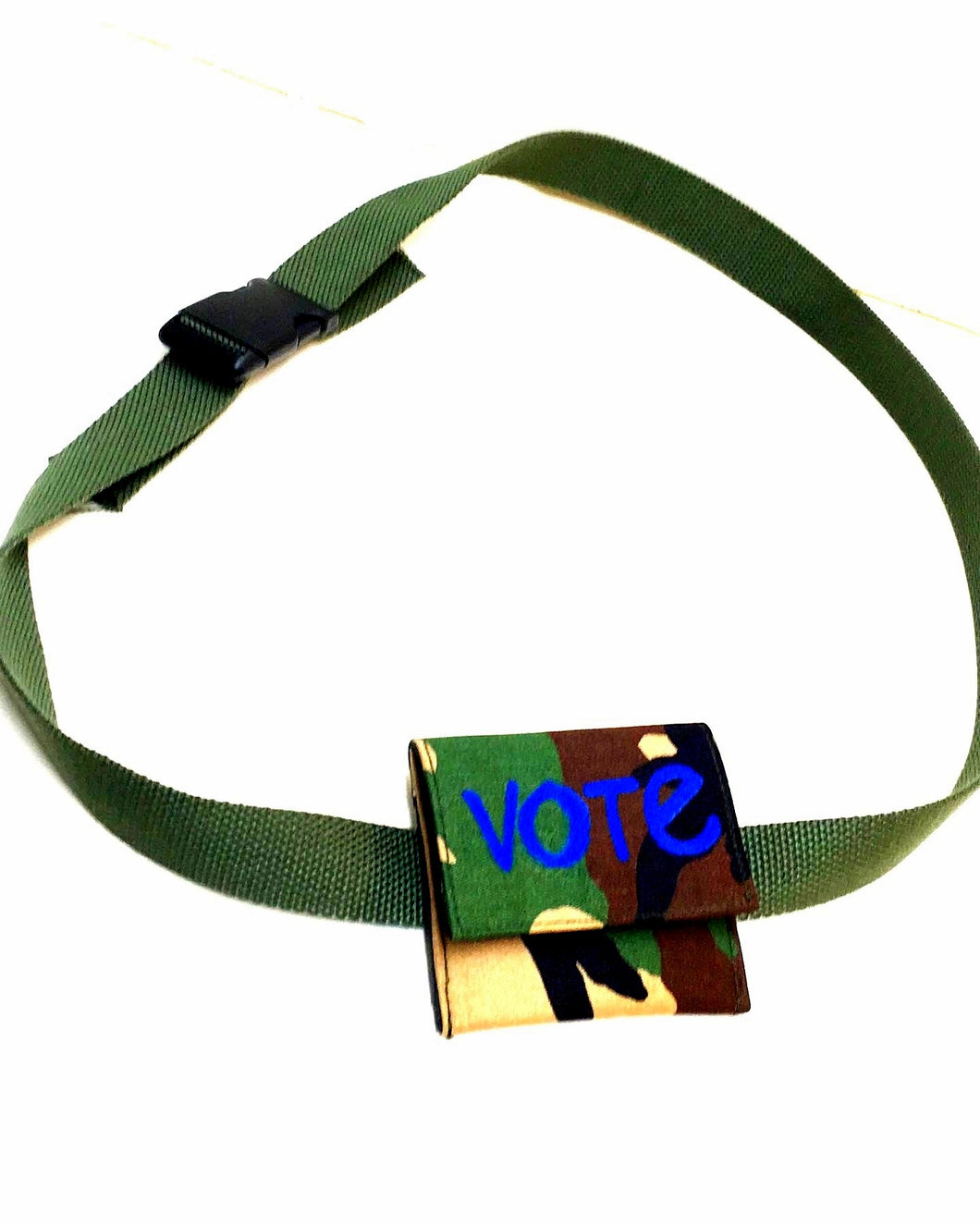 VOTE Camo Wallet/Waist Bag