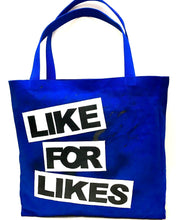 Real/Like For Likes Tote Bag