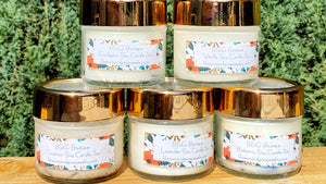 Organic Soy and Essential Oil Gemstone Infused Candles