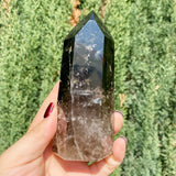 Dark Smokey Quartz Point
