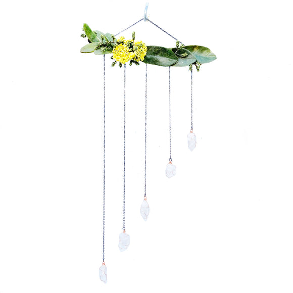 Crystal Quartz Wall Hanging