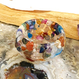 Gemstone and Resin Small Trinket Bowl