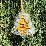 Gemstone and Resin Christmas Ornaments