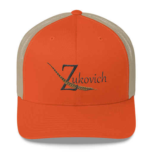 Zukovich Game Birds Mesh Back Cap