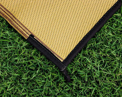 OUTDOOR MAT 9X12 LATTICE BRWN/TAN