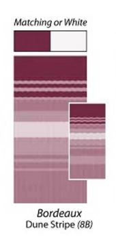 Bordeaux Dune Stripe