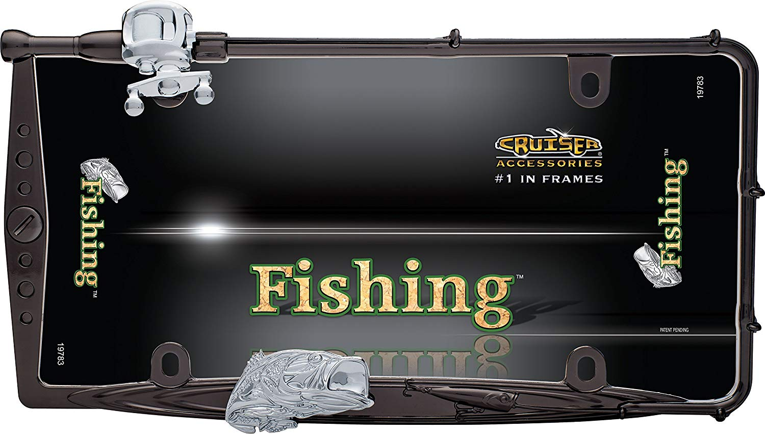 FISHING  BLACK CHROME/CHROME