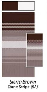 Sierra Brown Dune Stripe