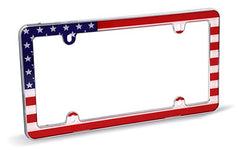 USA FLAG CHROME