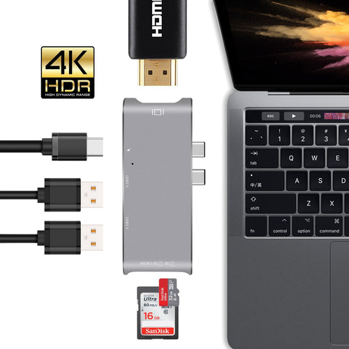 HyperDrive Hub for USB-C MacBook Pro 13
