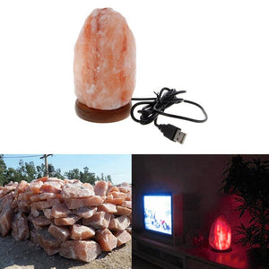 Pure Himalayan Salt Crystal Purifying Lamp