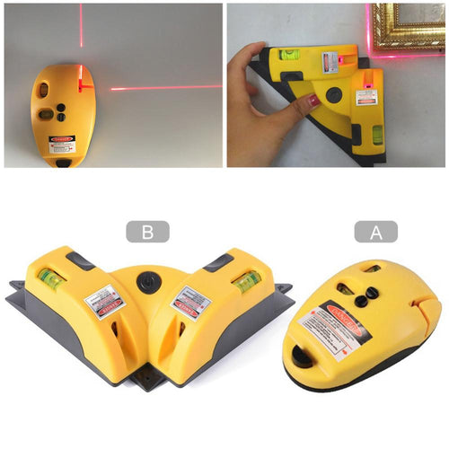 Digital Pro Laser Level 90 Degree for Vertical/Horizontal Line Projection