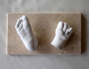 3D Plaster Baby Hand Foot Print