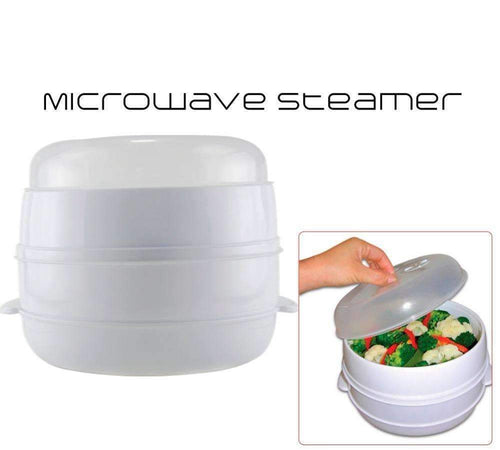 2-Tier Microwave Steamer