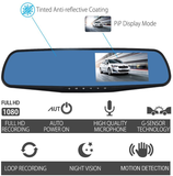 Tripcam PRO - Car 1080P Dual Lens Dash Camera