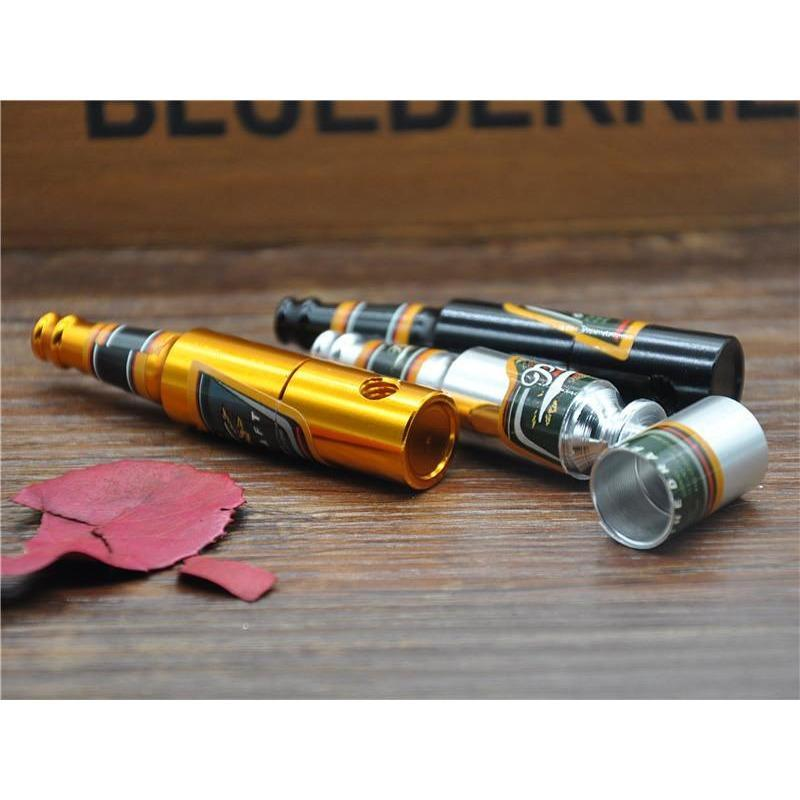 Aluminum Mini Beer Smoke Metal Pipes -  Accessories - BuyShopDeals