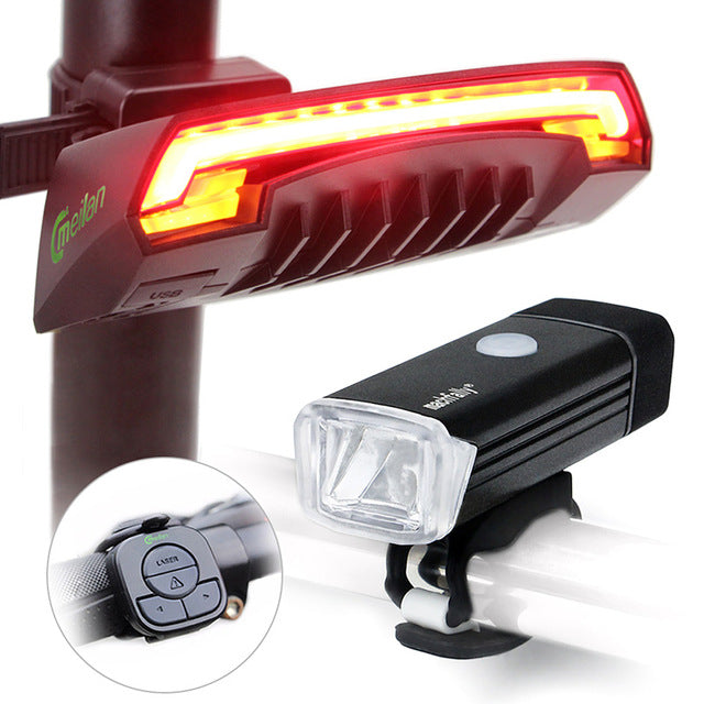 Meilan X5 Bike Tail LED Light Rechargeable Flashing - Electro Deals