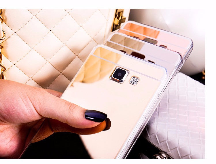 MIRROR CASE SOFT BACK COVER
