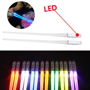 1 Pair LED Light Up Chopsticks