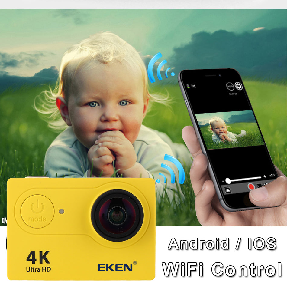 EKEN H9 / H9R Waterproof Action Camera With 4K & WIFI Capability