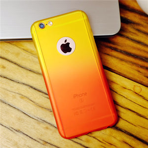 GRADIENT CASE FOR IPHONE FULL BODY COVER