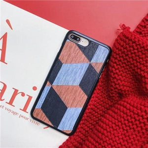 Painting Plaid iPhone Case