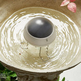 Solar-Powered Bird Bath Wiggler - Attract Birds Discourage Mosquitoes!