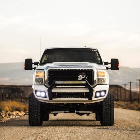 Ford (2011-2016) Super Duty F250/F350 Steel Demon Series Front Bumper