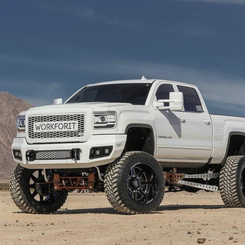 GMC Sierra HD (2015-2018) Steel Demon Series Front Bumper
